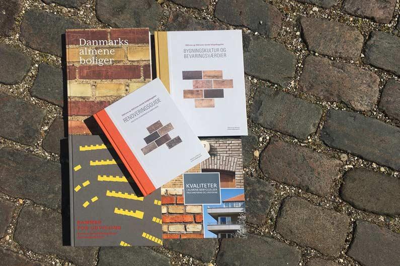 Bøger om bevarngsværdier i alment byggeri